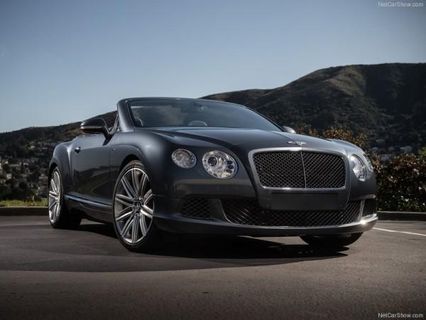 Anderson Silva_Bentley Continental GT