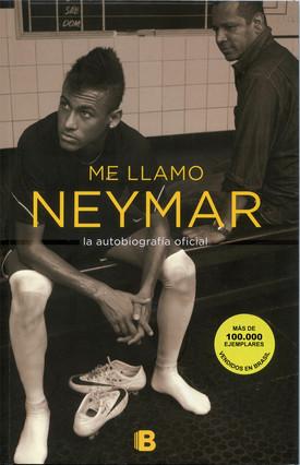 Capa do livro sobre a vida de Neymar, que será lançado em 26 de fevereiro