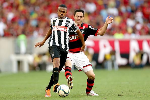 Flamengo v Santos - Brasileirao Series A 2014
