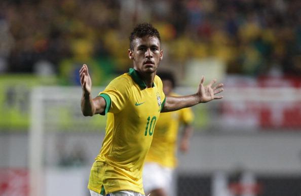 Brasil x Japão - Neymar