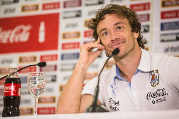 Uruguay Press Conference - 2014 FIFA World Cup Brazil