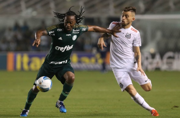 Palmeiras x Santos ao vivo 12/07/2016