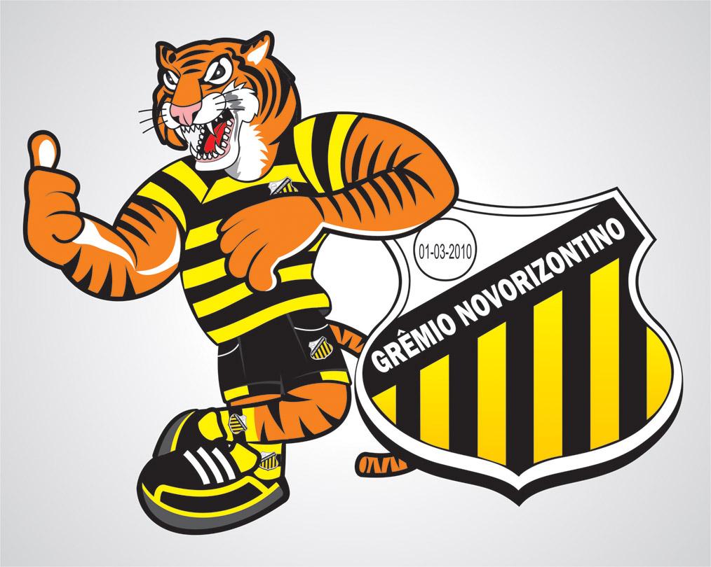Mascote Gremio Novorizontino