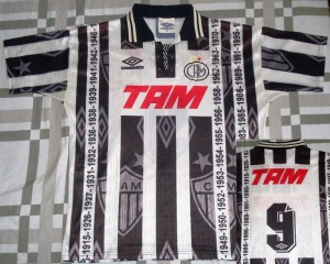 camisa atletico mineiro 1996