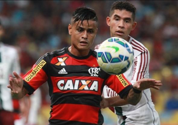 Everton do Flamengo x Fluminense - 31/05/2015