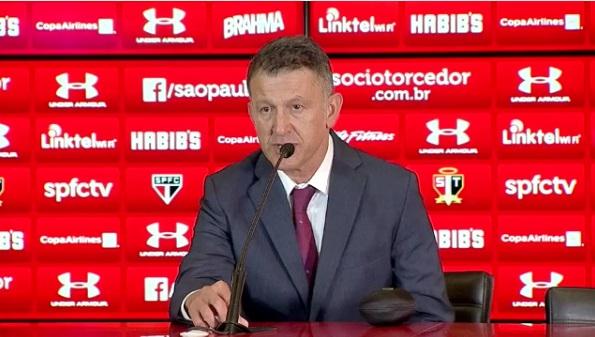 Presidente do São Paulo descarta ideia de decepção com Osorio