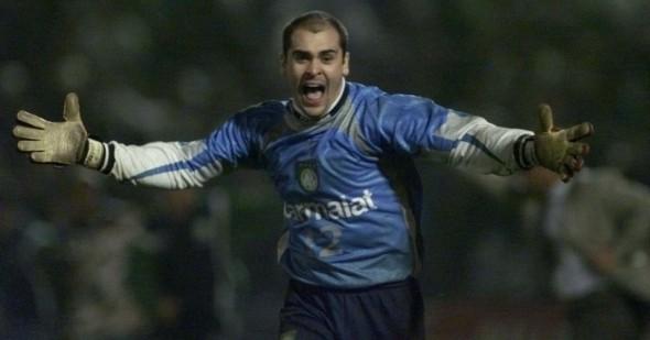 """Marcos tratou de dar """"boas-vindas"""" a Cuca no Palmeiras em 1992. Foto: Divulgação"""