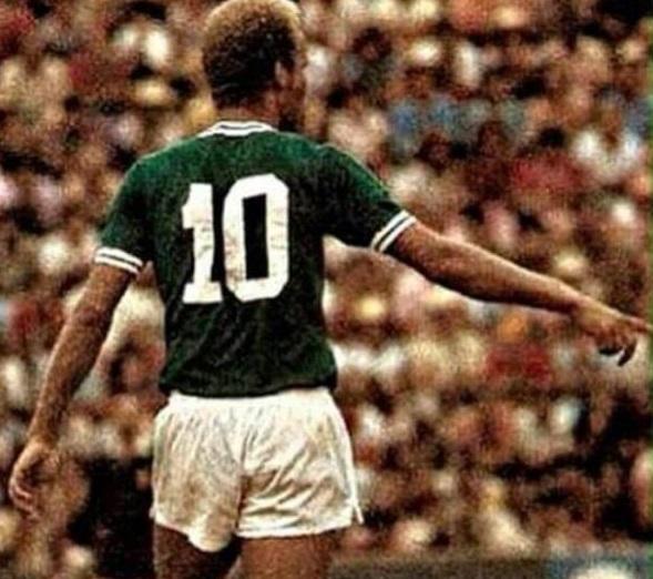 Ademir da Guia, o Divino, foi um dos maiores jogadores da história do Palmeiras. Foto: Reprodução/Twitter