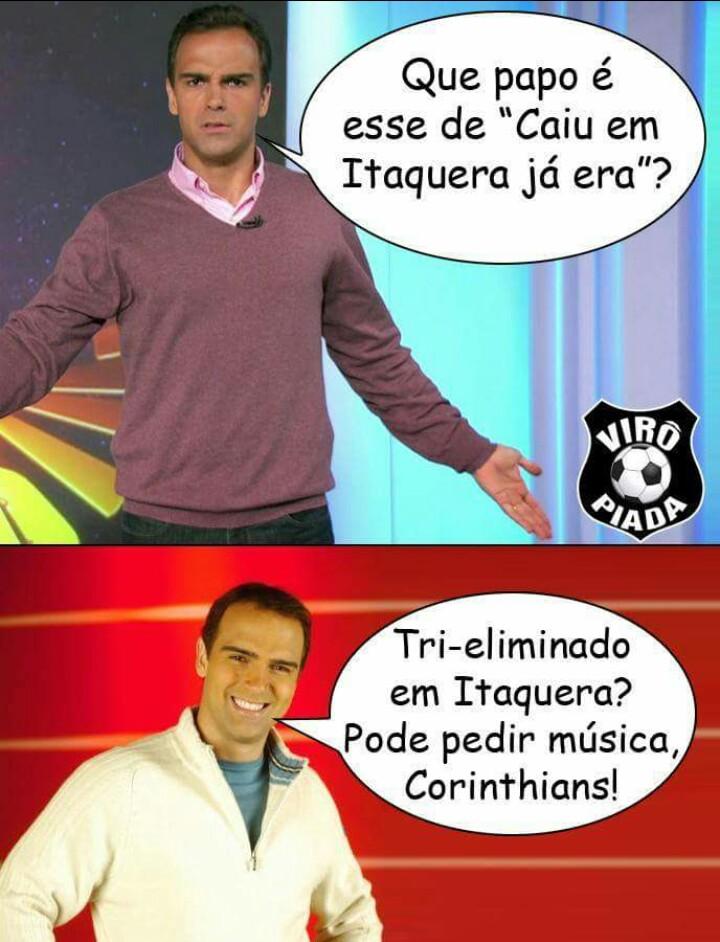 Memes da eliminação do Corinthians