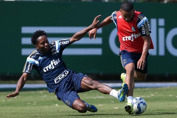 Treino no Palmeiras