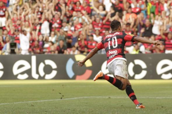 Ederson chegou marcando gols - Gilvan de Souza/Flamengo