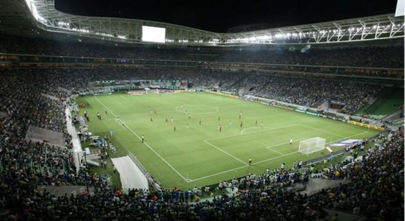 Allianz Parque em dia de jogo