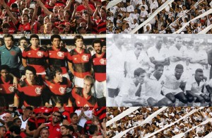 (Foto: Divulgação CRFlamengo/Divulgação Santos FC)