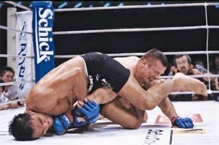 Minotauro: lenda do MMA especializado em jiu-jitsu