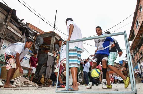 Crédito da foto: Divulgação/Mundial de Futebol de Rua.