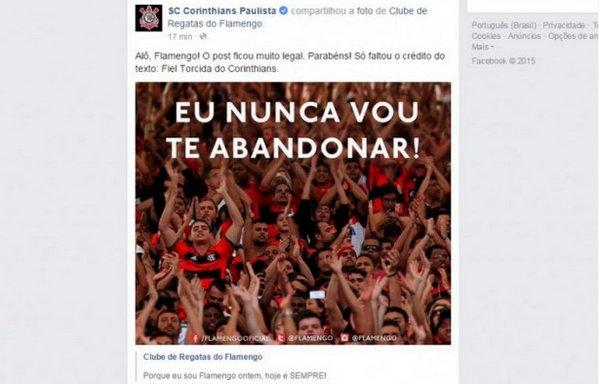 Corinthians direitos autorais