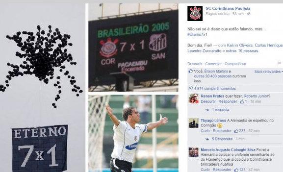 Corinthians finge que nao sabe