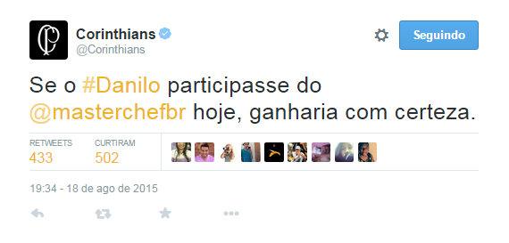 Corinthians mexe com quem ta queto