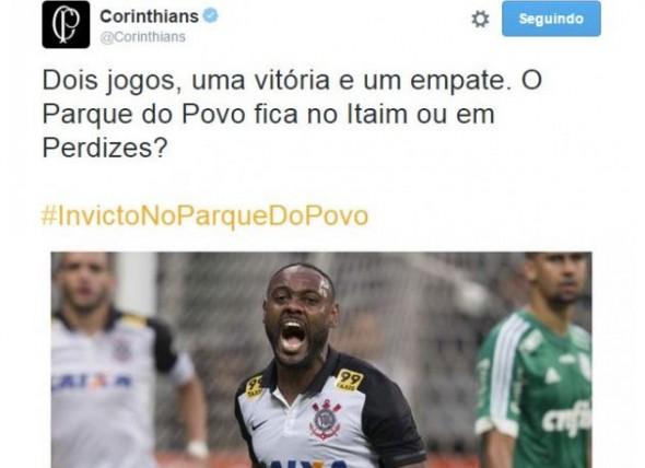 Corinthians sem educacao
