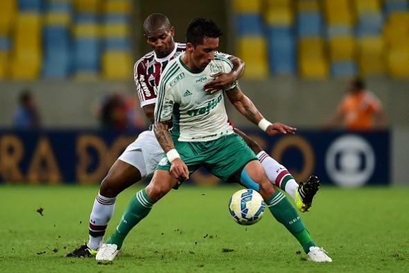 Fluminense v Palmeiras pelo Brasileirão 2015