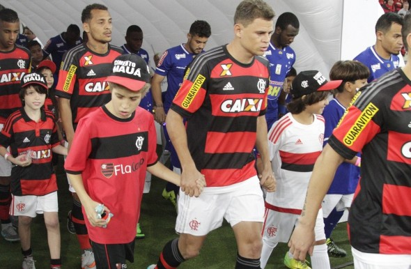 Jonas pelo Flamengo - Foto: Gilvan de Souza/Flamengo