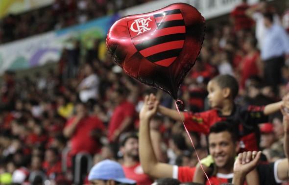 Torcida do Flamengo bateu recorde em Brasília