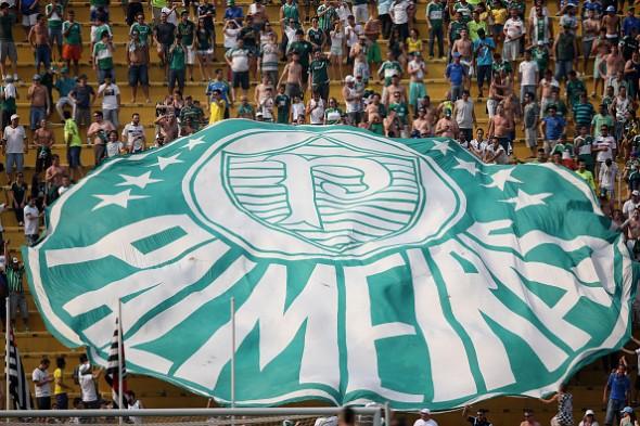 Palmeiras v Santos - Brasileirao Series A 2014
