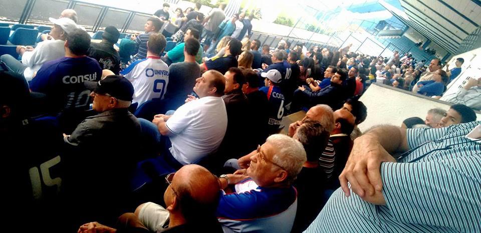 Quase 5 mil torcedores foram ao Anacleto - Crédito da foto: Gabriel Pessotti