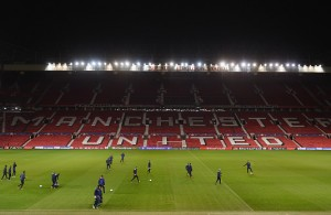 <> at Old Trafford on November 24, 2015 in Manchester, England.
