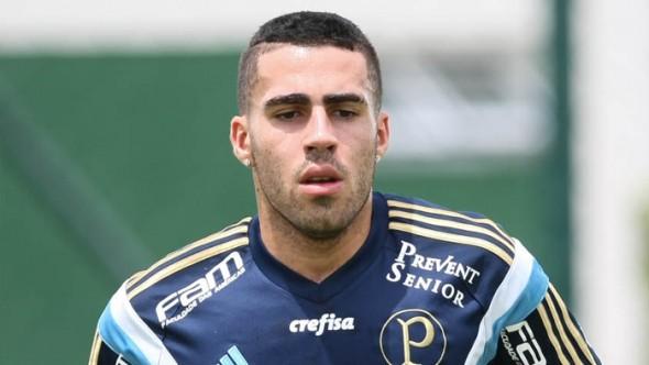 Volante Gabriel foi grande surpresa do Palmeiras em treino dessa quarta-feira