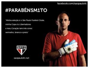 Credito da foto: Divulgacao / Facebook oficial do Sao Paulo