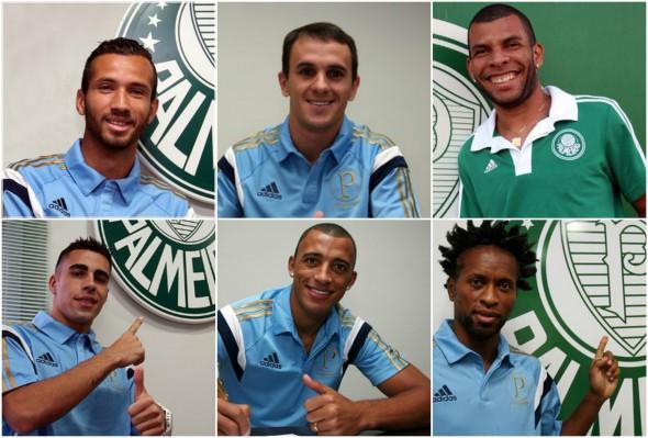 Foto: Divulgação/Palmeiras/Montagem