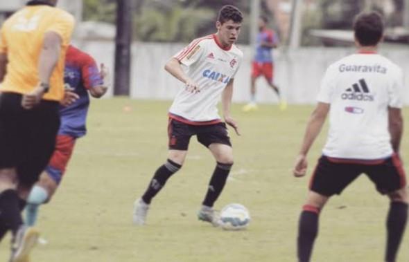 Ronaldo deve ter oportunidade no time do Fla - Foto: Divulgação/Flamengo