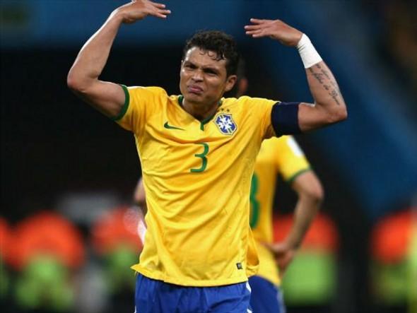 Thiago Silva poderá jogar Olimpíada - Crédito da foto: Divulgação