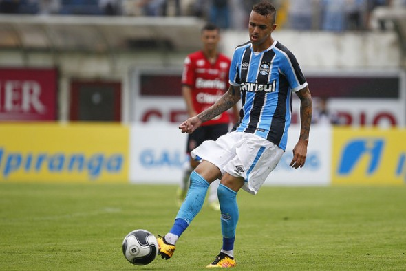 Luan (BRA) - Foto: Lucas Uebel/Grêmio FBPA
