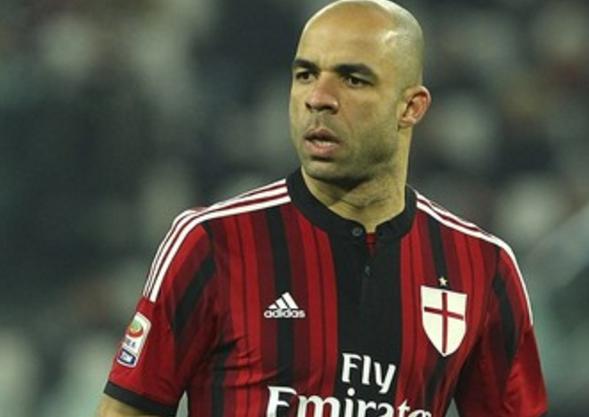 Alex pelo Milan/ITA - Crédito de imagem: Getty Images