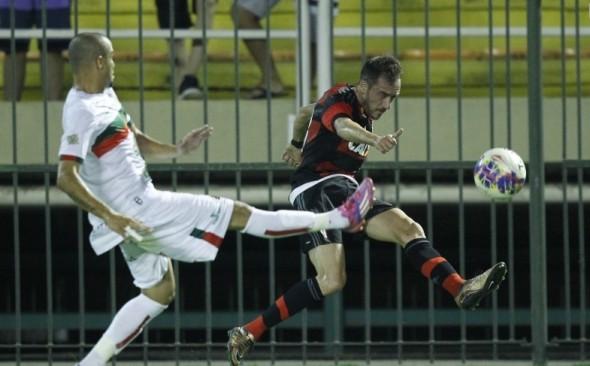 Mancuello em sua estreia oficial. Foto: Gilvan de Souza/Flamengo