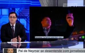 Apresentador diz que pai de Neymar foi machista: 'Desrespeitou a…