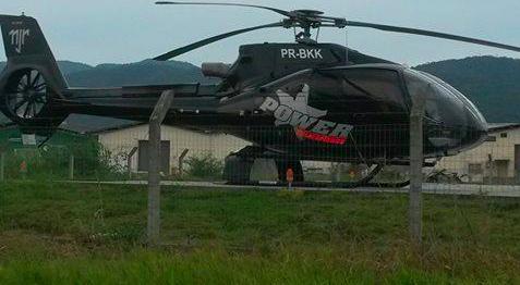 [Brasil] Anac bloqueia helicóptero de R$ 15 milhões de Neymar Helicoptero