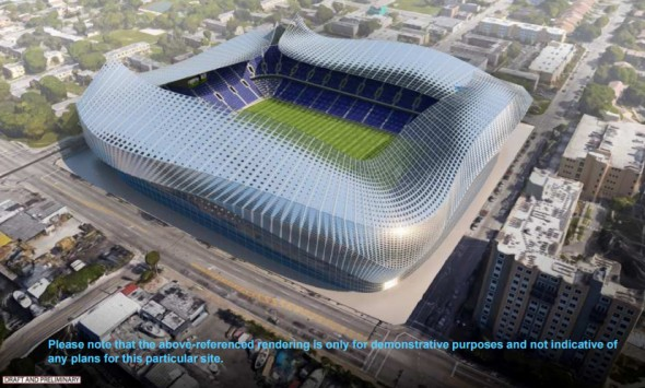 Este pode ser o estádio do futuro clube de Beckham