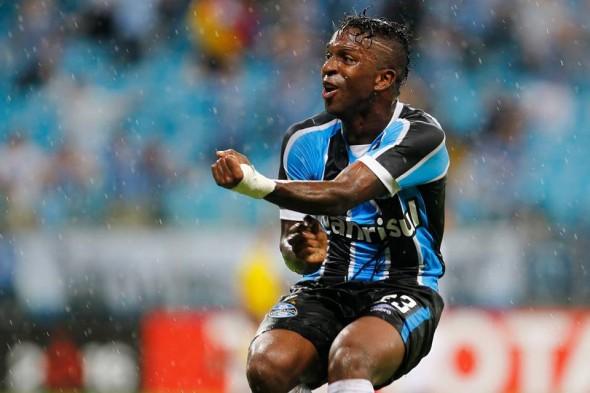Miller Bolaños (EQU) - Foto: Lucas Uebel / Grêmio FBPA