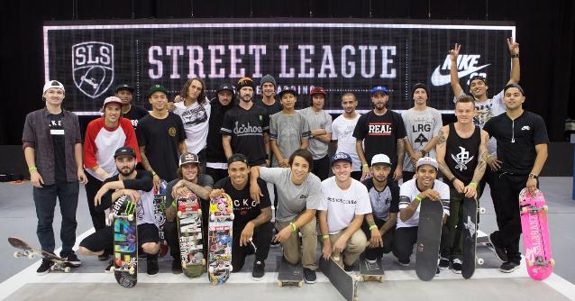 Reprodução/Facebook oficial do Street League Skateboarding