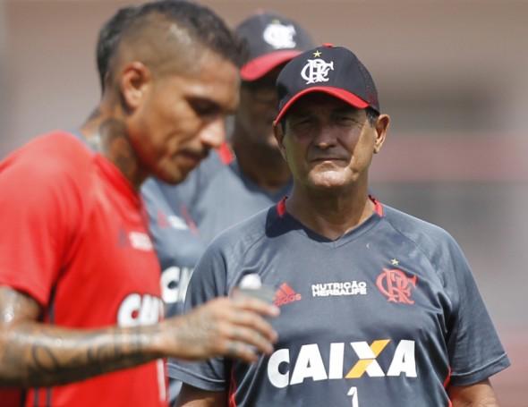 Muricy aposta no Fla de Guerrero - Foto: Gilvan de Souza/Flamengo