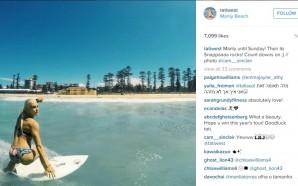 Crédito da foto: Reprodução/Instagram oficial da surfista