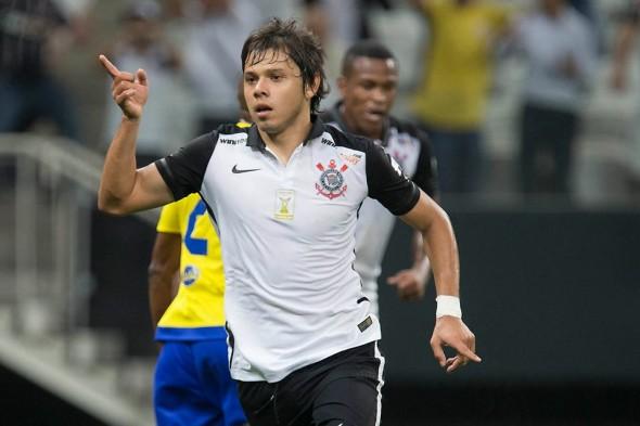 Ángel Romero (PAR) (Foto: Daniel Augusto Jr/Agência Corinthians)