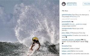 Crédito da foto: Reprodução/Instagram oficial do Gabriel Medina