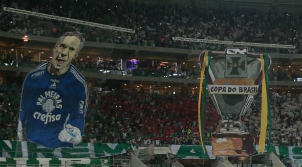 Prass se disse surpreso com mosaico na final da Copa do Brasil. Foto: César Greco/Ag. Palmeiras