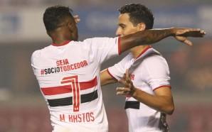 Dupla Michel Bastos e Ganso. Crédito da Foto: Reprodução/Twitter Oficial São Paulo FC