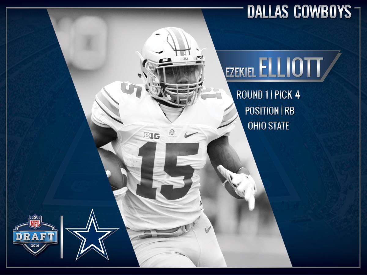 Opinião: o Dallas Cowboys acertou em escolher um running back na primeira rodada do Draft 2016?