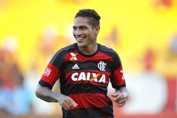 Paolo Guerrero (PER) - Foto: Gilvan de Souza/Flamengo